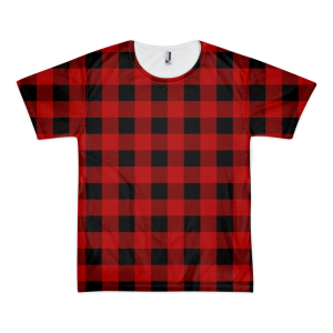 Lumber-T Plaid T-Shirt – Red (men's)
