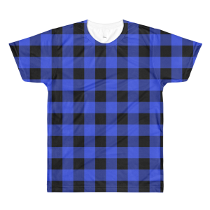 Lumber-T Plaid T-Shirt – Blue (men's)