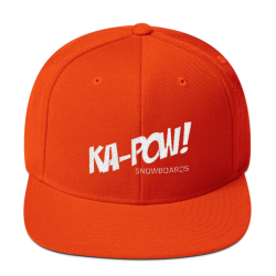 KA-POW! Embroidered Logo – Wool Blend Snapback